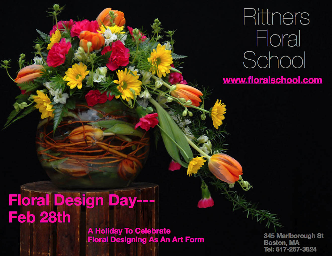 Floralschool Com Rittners School Of Floral Design The Floral