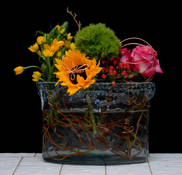 Learn to do flower arranging